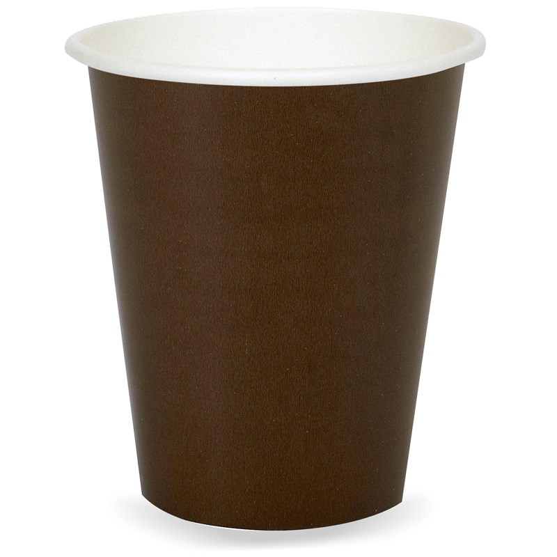Chocolate Brown (Brown) 9 oz. Cups (24 count) for the 2015 Costume season.