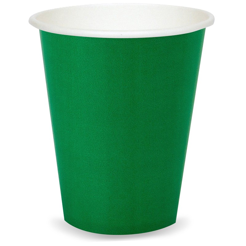 Emerald Green (Green) 9 oz. Cups (24 count) for the 2015 Costume season.