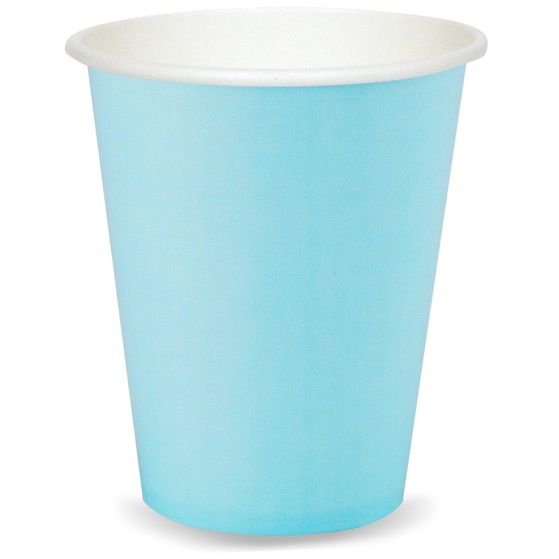 Pastel Blue (Light Blue) 9 oz. Cups (24 count) for the 2015 Costume season.