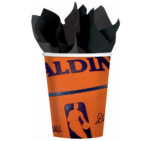 Spalding Basketball - 9 oz. Cups (18 count)