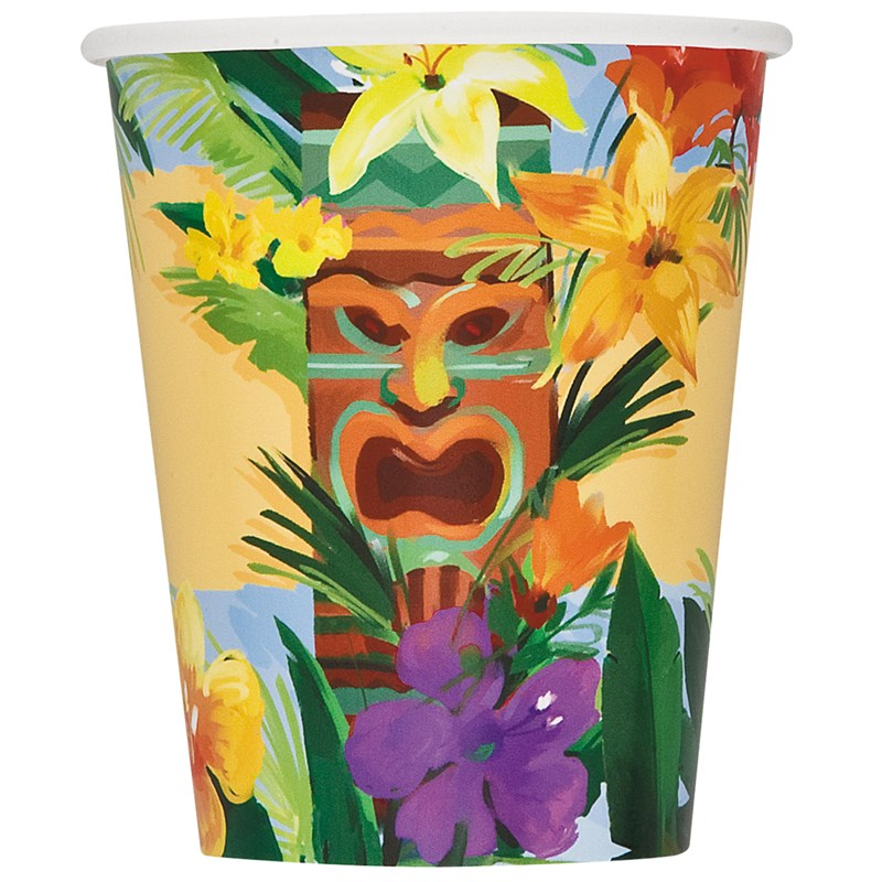 Tiki Tropics   9 oz. Paper Cups (8 count) for the 2015 Costume season.