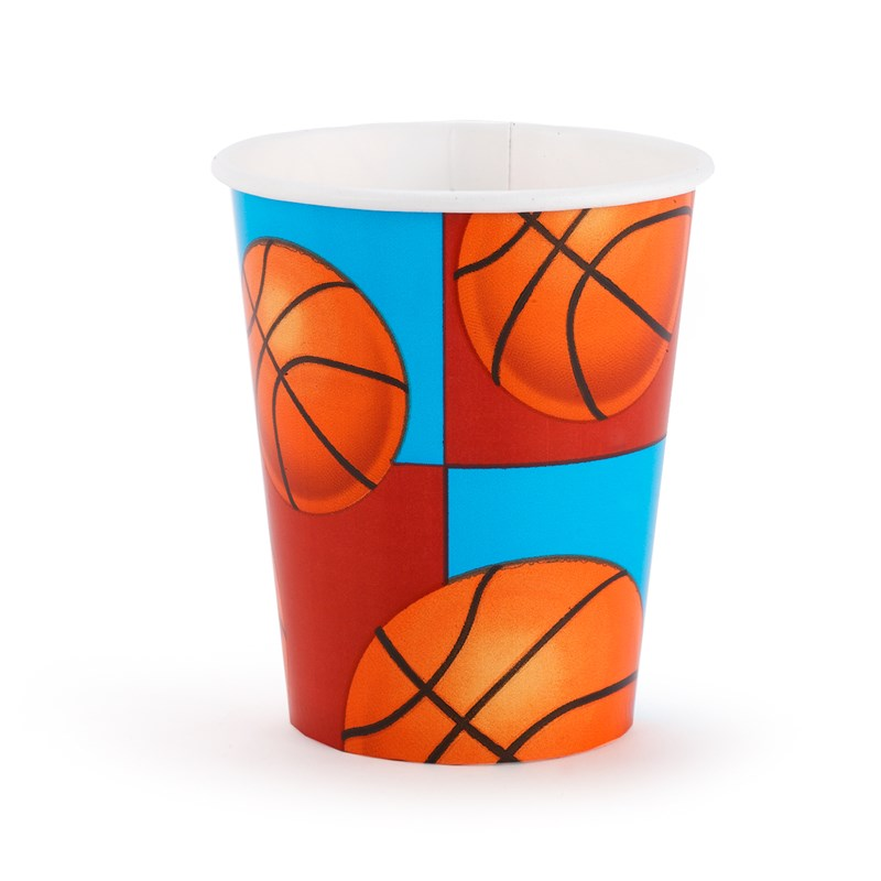 All Star Basketball 9 oz. Cups (8 count) for the 2015 Costume season.