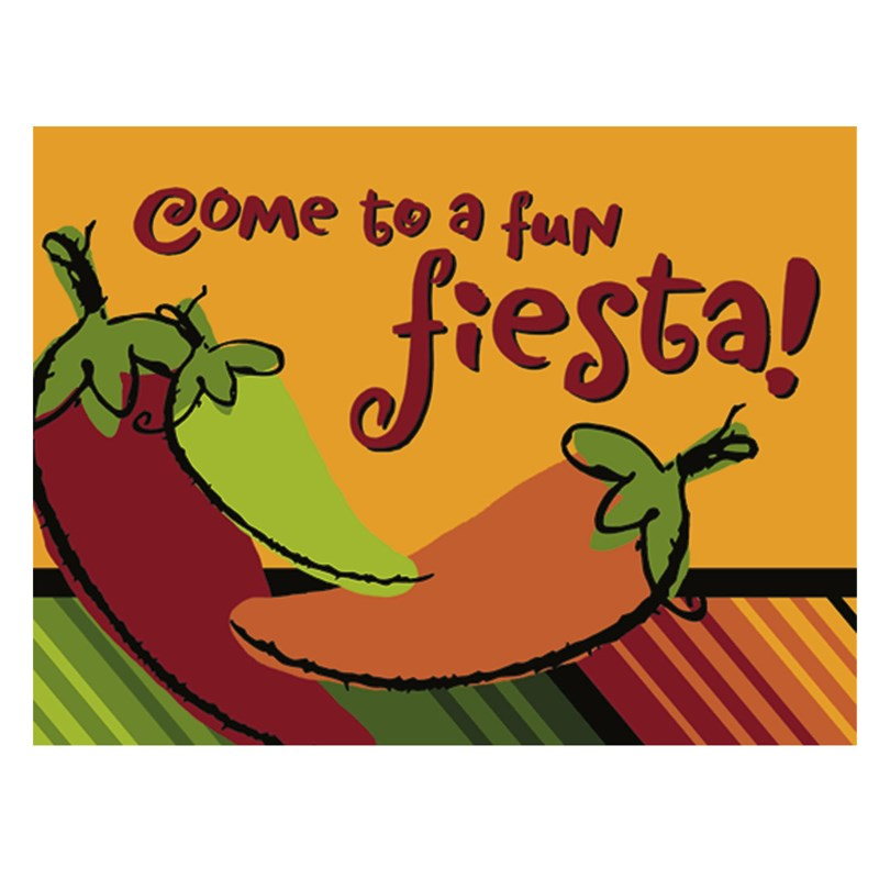 Fiesta Peppers Invitations (8 count) for the 2015 Costume season.