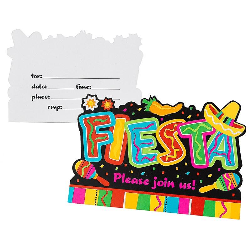 Fiesta Fun Invitations (8 count) for the 2015 Costume season.