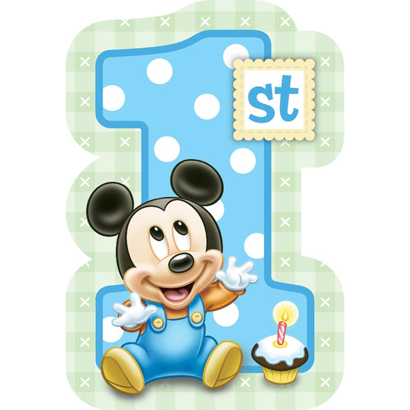 Disney Mickeys 1st Birthday Invitations (8 count) for the 2015 Costume season.