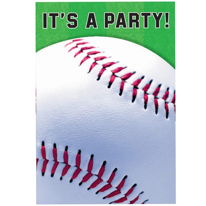 Baseball Invitations (8 count) for the 2015 Costume season.