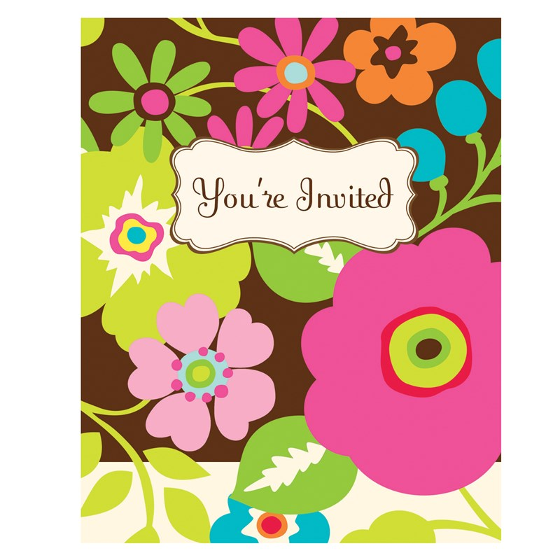 Rachels Garden Invitations (8 count) for the 2015 Costume season.