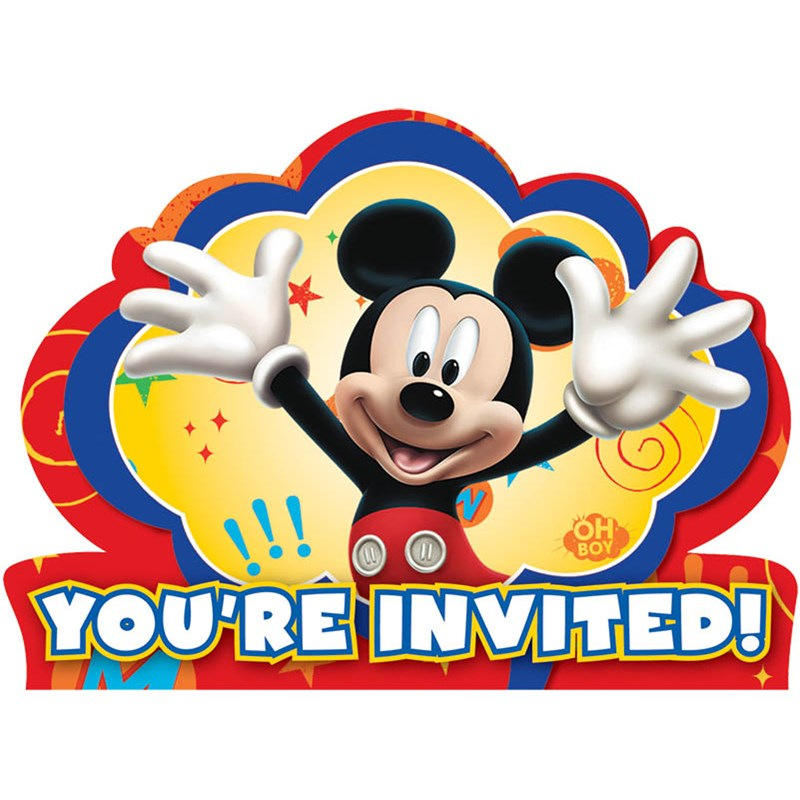 Disney Mickey Fun and Friends Invitations (8 count) for the 2015 Costume season.