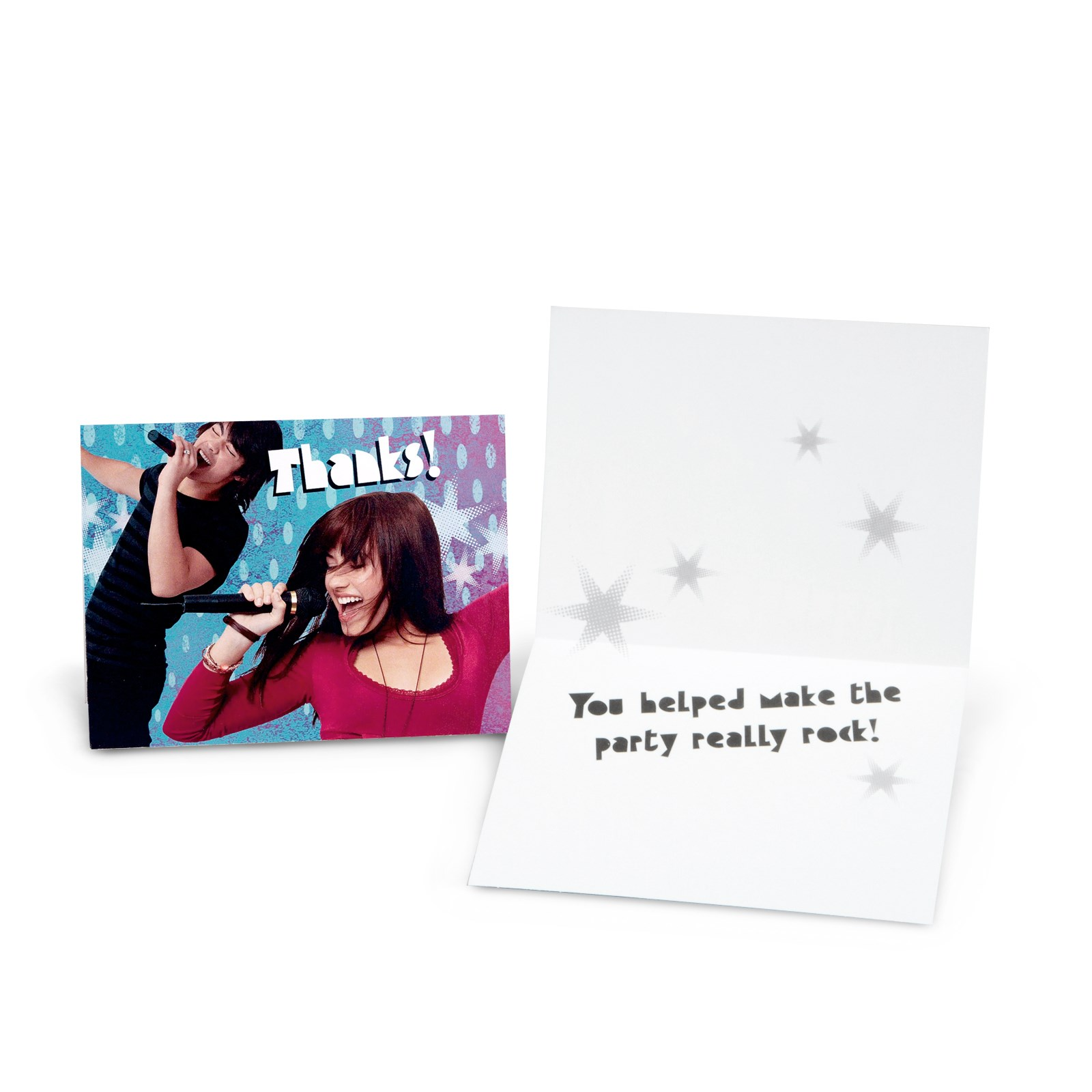 Camp Rock Thank You Cards 8 count
