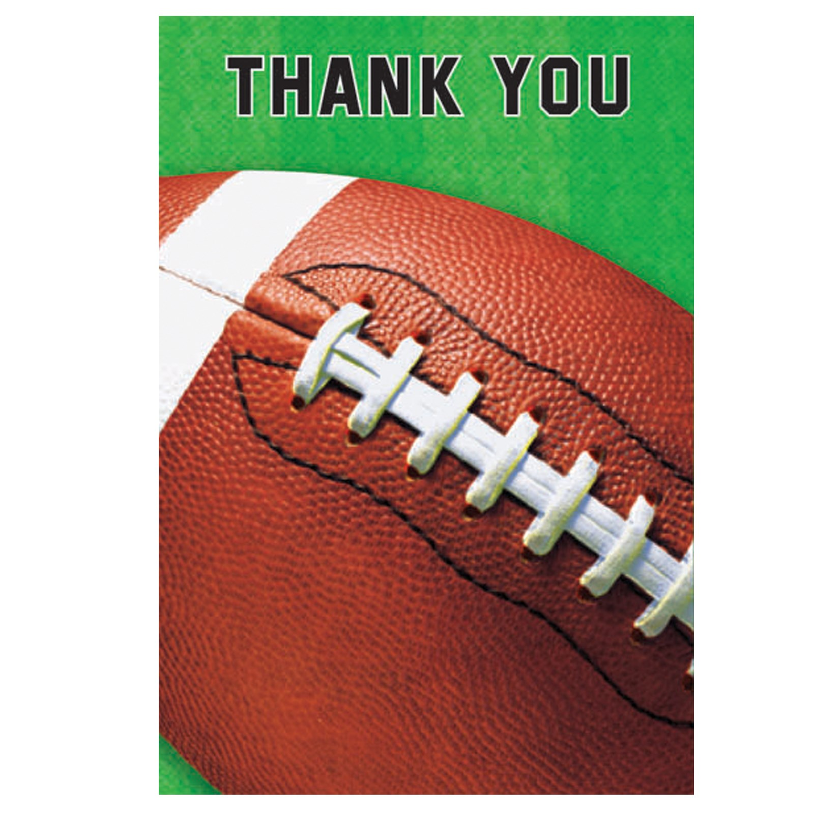 Football Fan – Thank You Cards 8 count