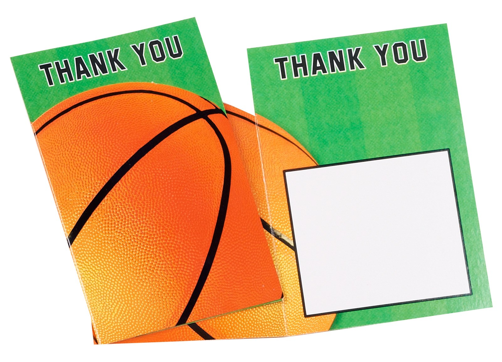 Basketball Fan – Thank You Cards 8 count