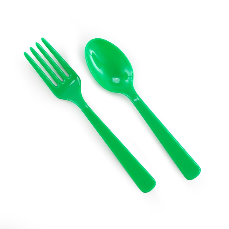 Forks Spoons   Green (8 each) for the 2015 Costume season.
