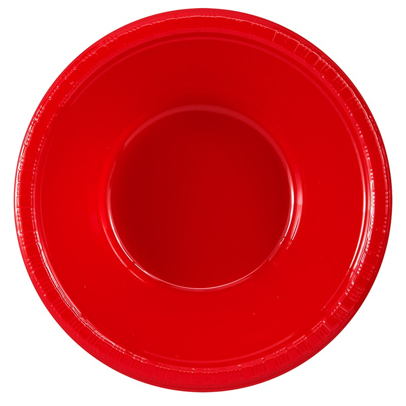 Classic Red (Red) Plastic Bowls (20 count) for the 2015 Costume season.