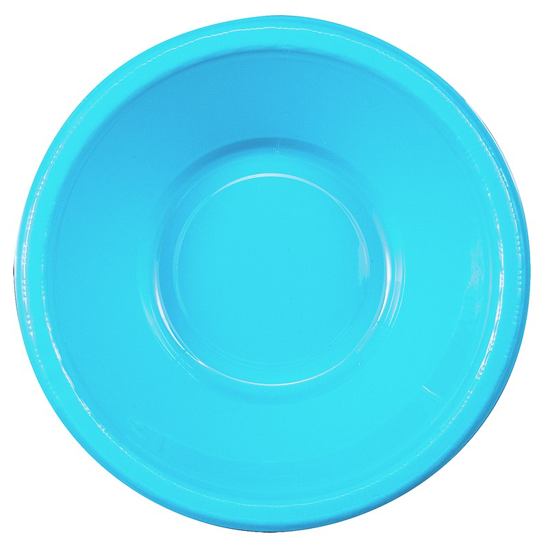 Bermuda Blue (Turquoise) Plastic Bowls (20 count) for the 2015 Costume season.