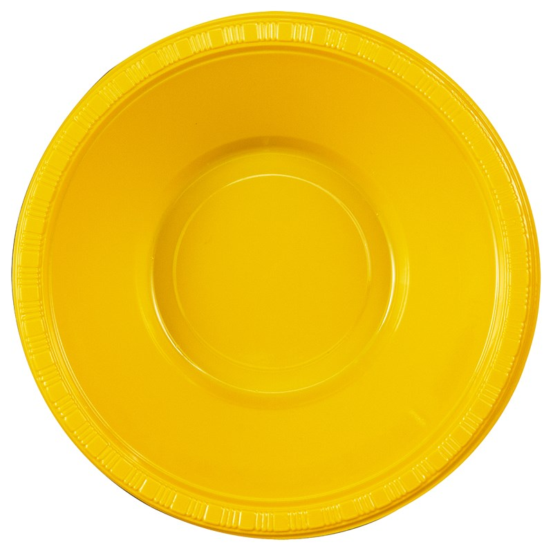 School Bus Yellow (Yellow) Plastic Bowls (20 count) for the 2015 Costume season.