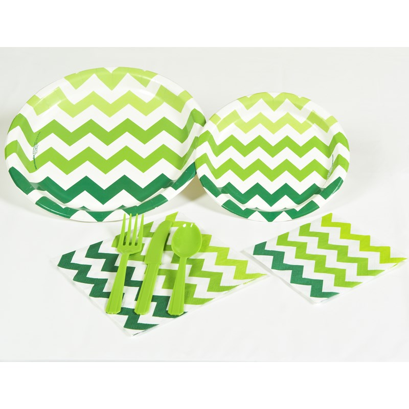 Chevron Green Party Kit for the 2015 Costume season.