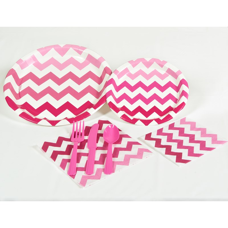 Chevron Pink Party Kit for the 2015 Costume season.