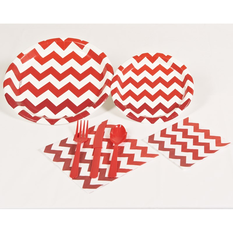 Chevron Red Party Kit for the 2015 Costume season.