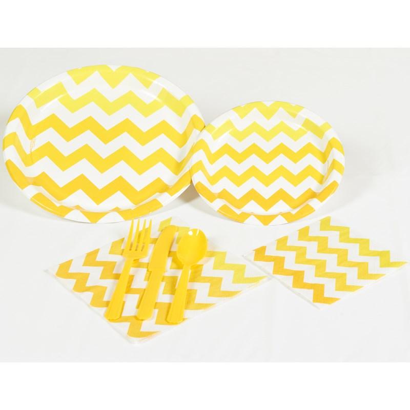 Chevron Yellow Party Kit for the 2015 Costume season.