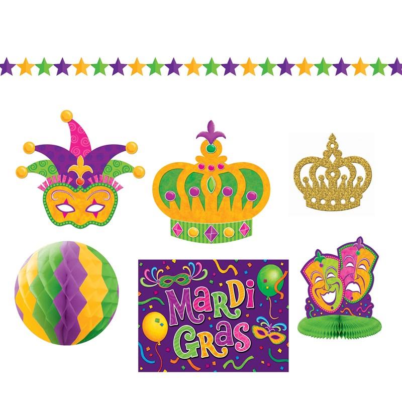 Mardi Gras Decorating Kit for the 2015 Costume season.