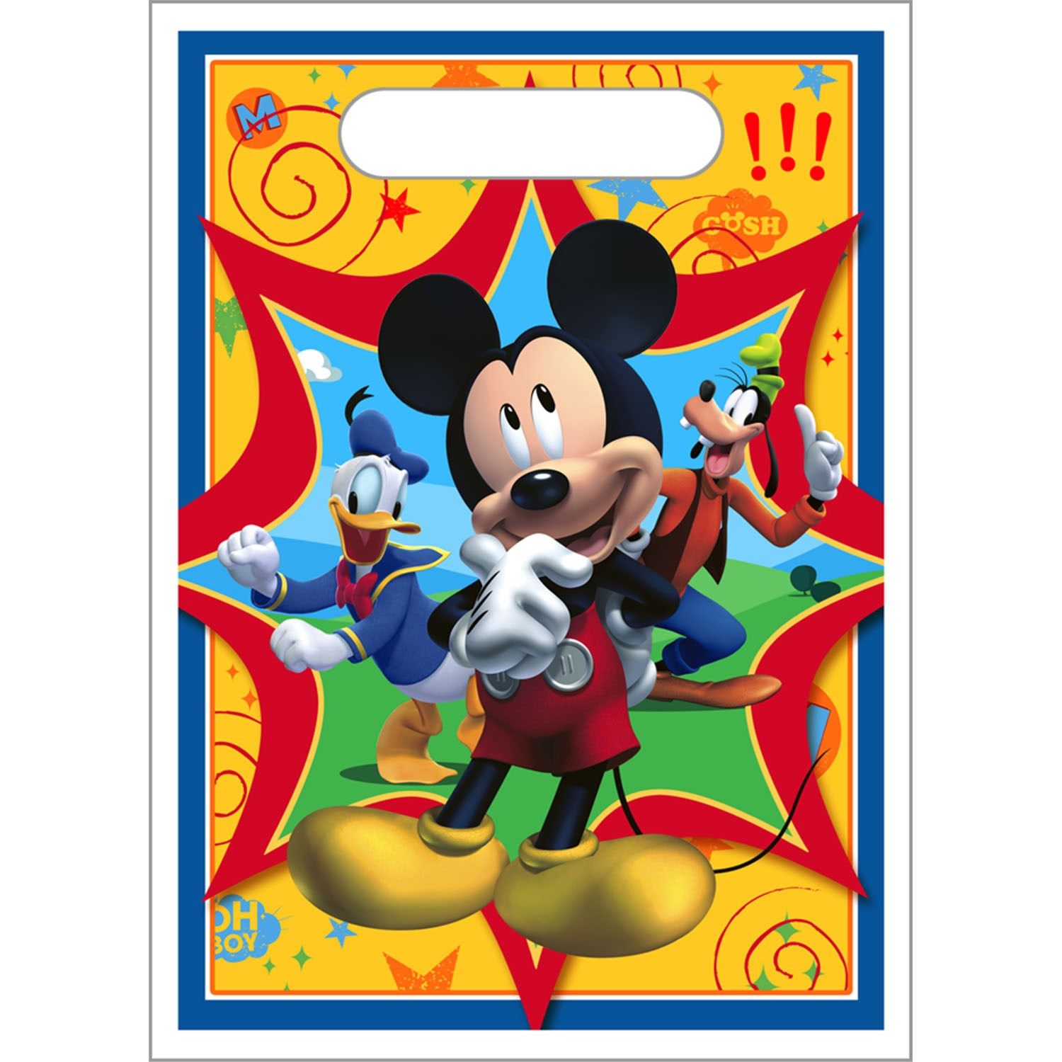 Disney Mickey Fun and Friends Treat Bags 8 count