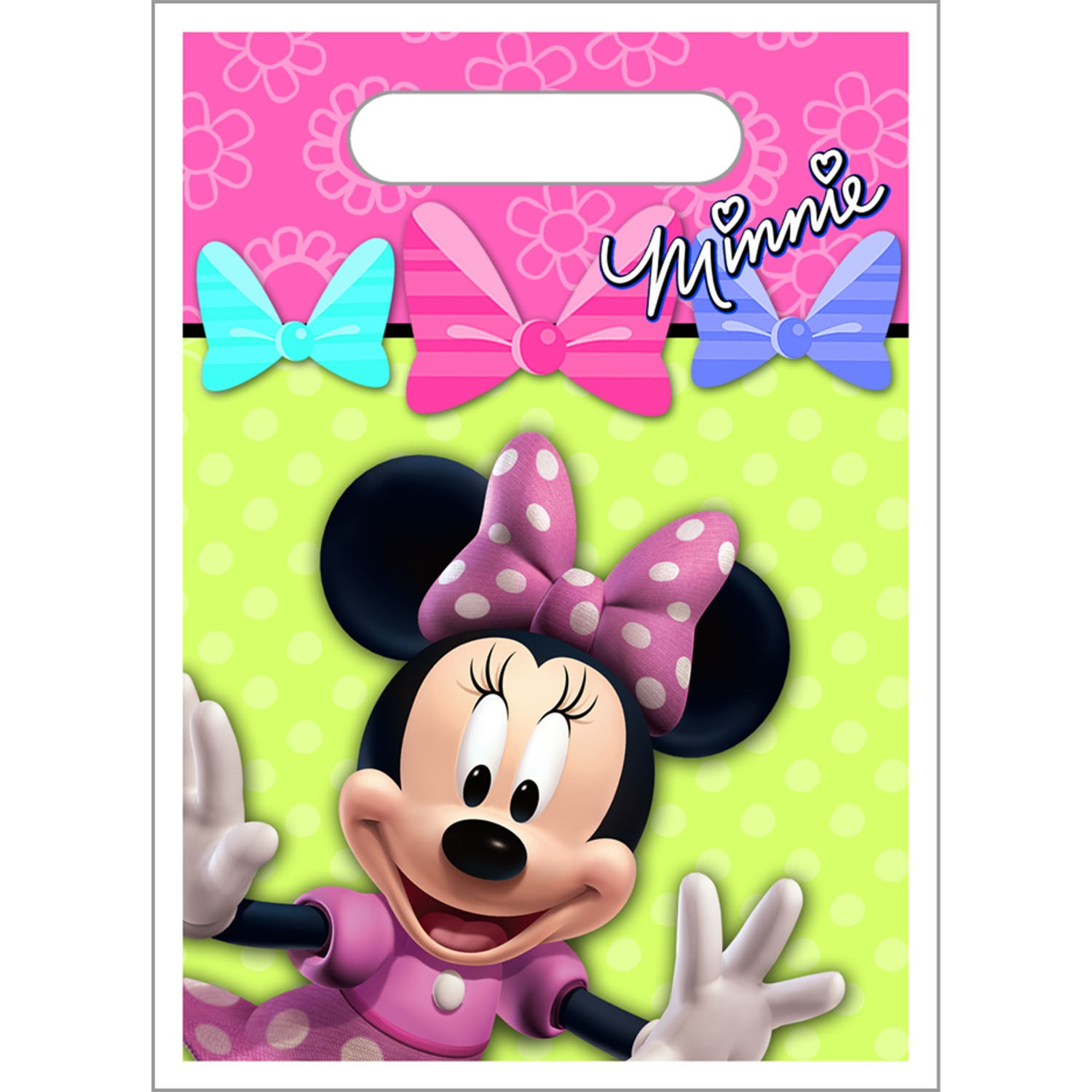 Disney Minnie Mouse Bow-tique Treat Bags 8 count