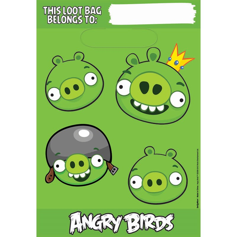 Angry Birds   Treat Bags (8 count) for the 2015 Costume season.