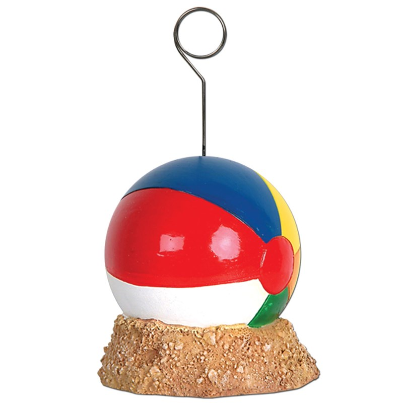 Beach Ball Balloon Weight  and  Photo Holder for the 2015 Costume season.