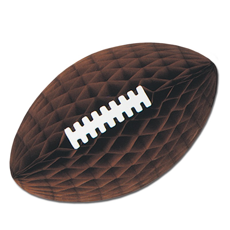 Tissue Football Hanging Decoration for the 2015 Costume season.