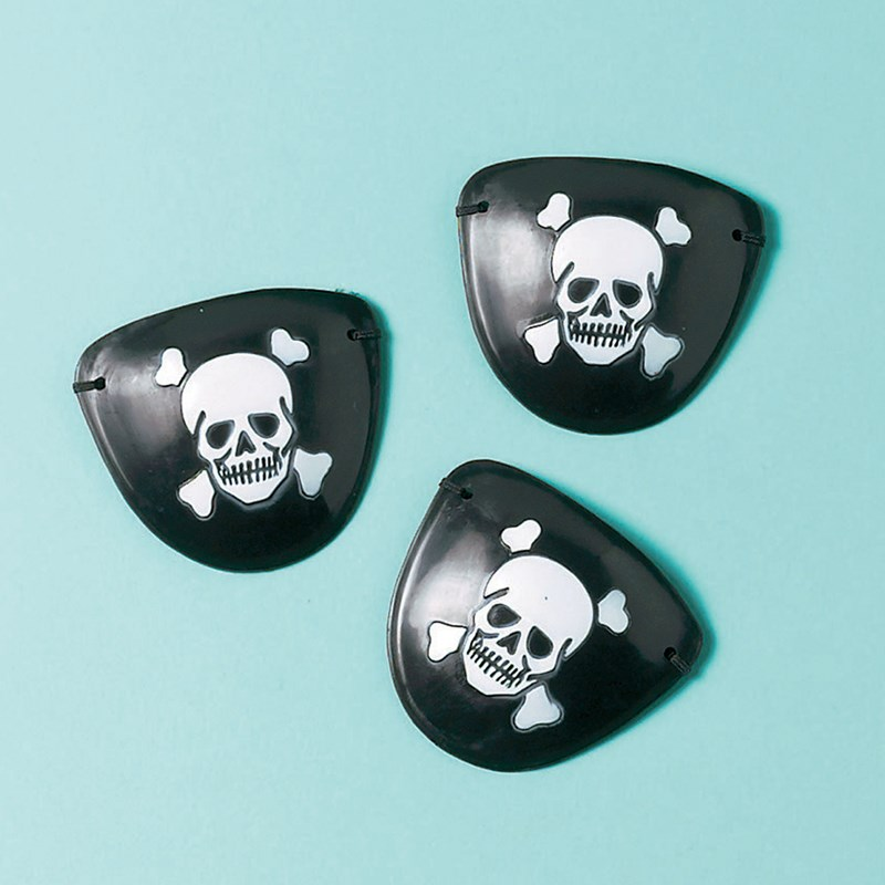 Pirate Eye Patches (12 count) for the 2015 Costume season.
