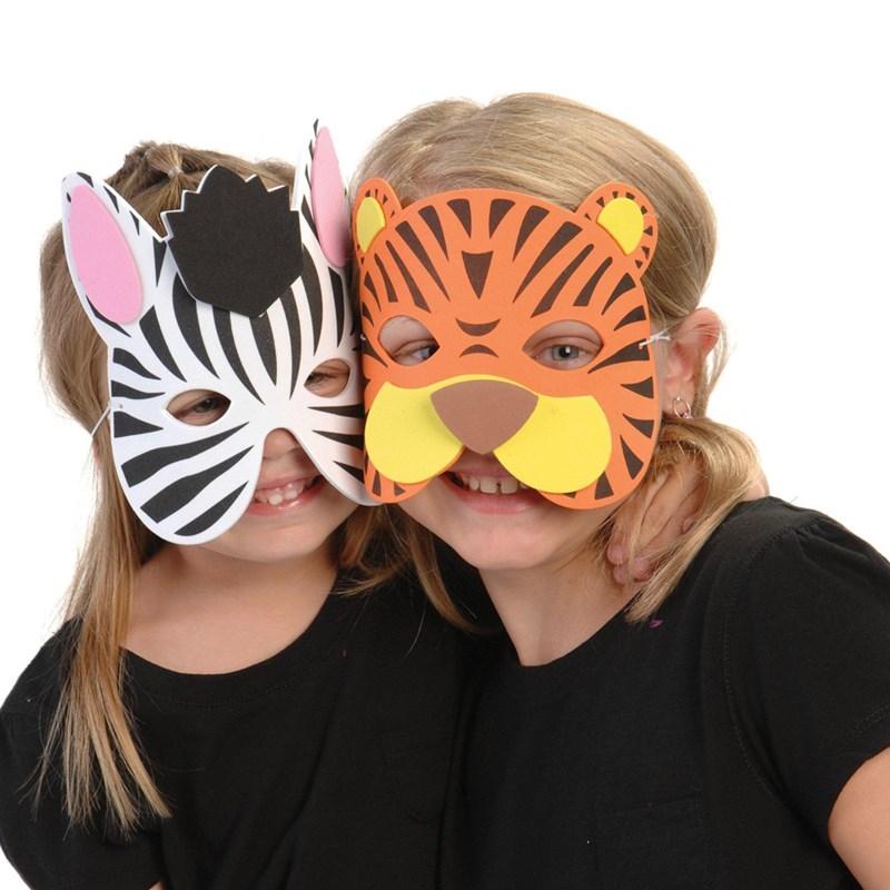 Wild Animal Foam Masks for the 2015 Costume season.