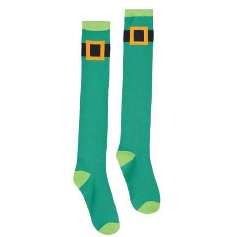 St. Patrick's Day Leprechaun Socks
