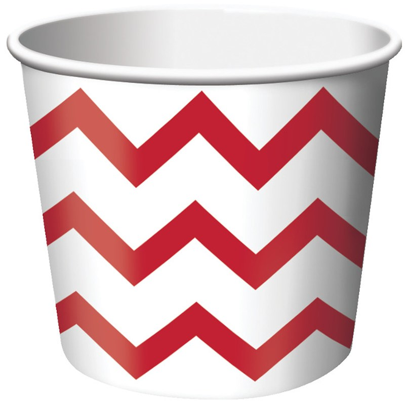 Chevron StripeTreat Cups for the 2015 Costume season.