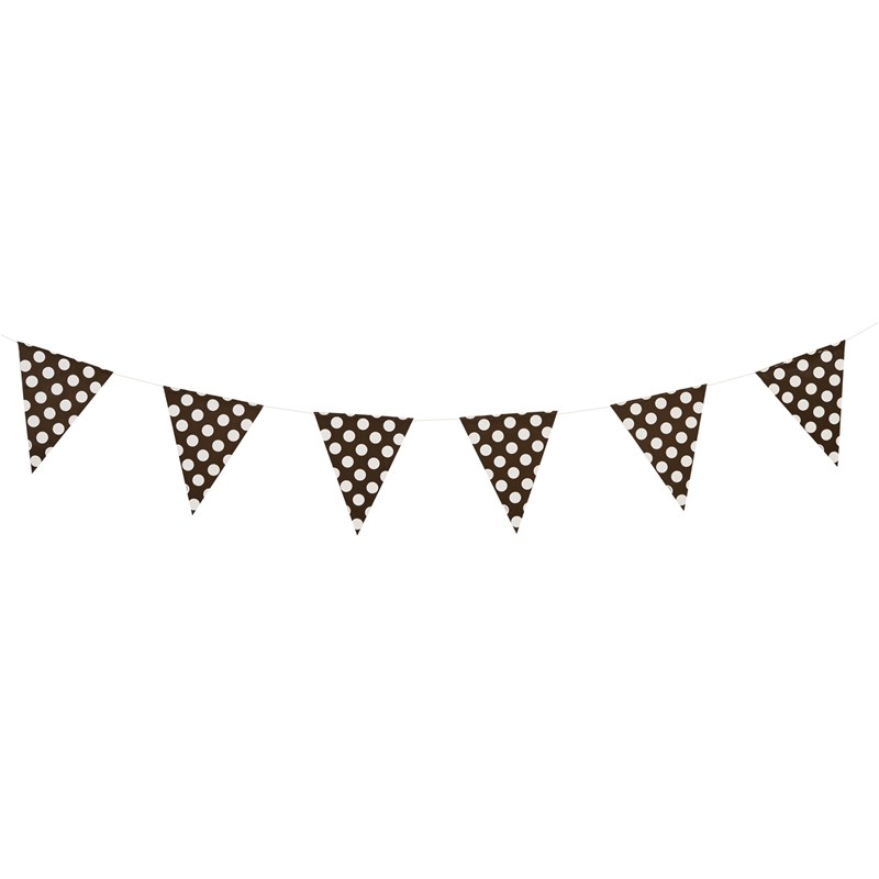 Black and White Dots Flag Banner for the 2015 Costume season.