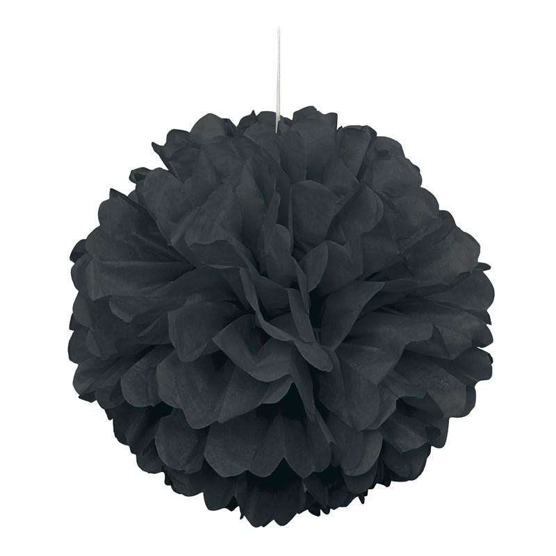Black Hanging Puff Ball for the 2015 Costume season.