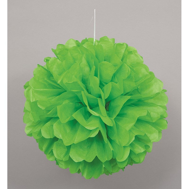 Green Hanging Puff Ball for the 2015 Costume season.
