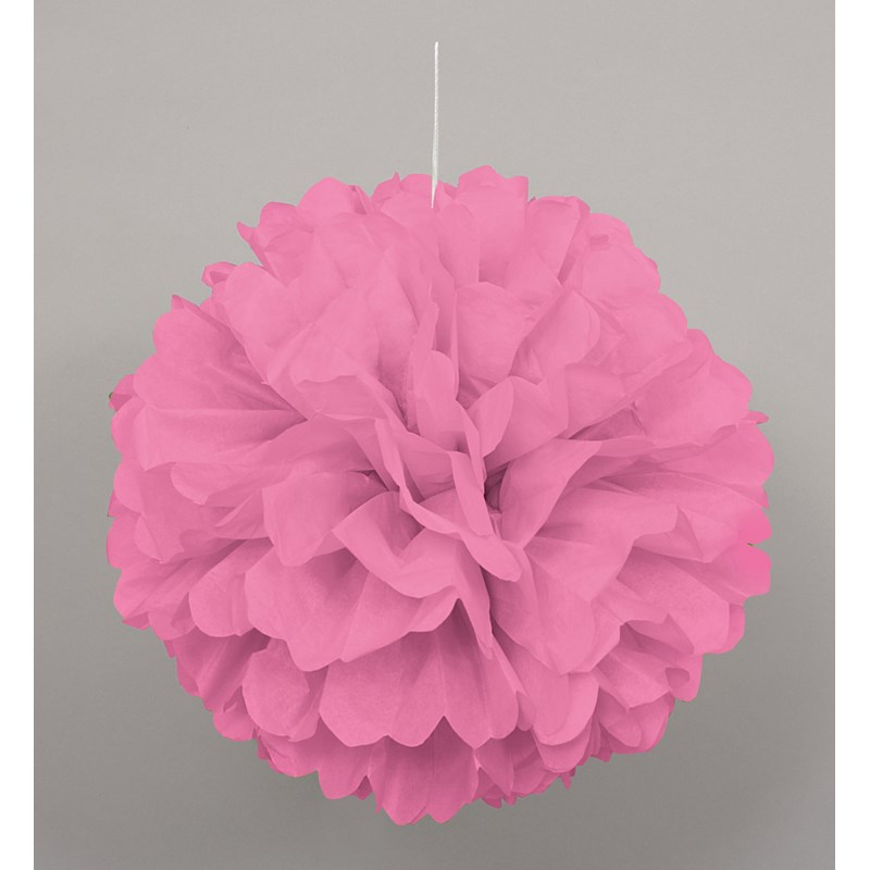 Pink Hanging Puff Ball for the 2015 Costume season.