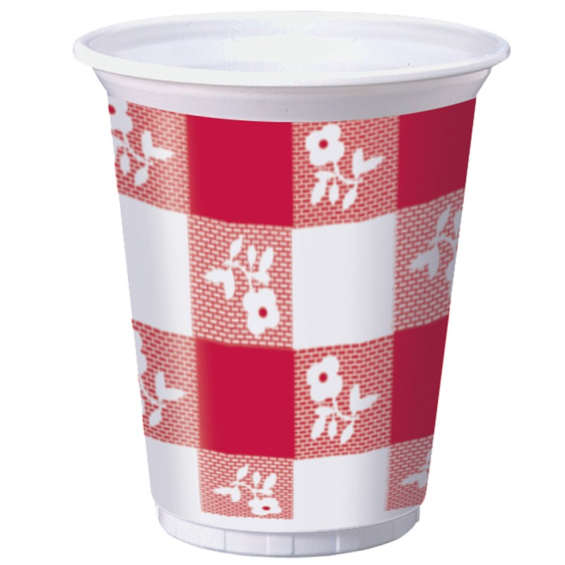 Red Gingham 16 oz. Cups (25) for the 2015 Costume season.