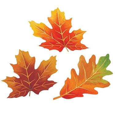 Large Parchment Paper Leaves (10)