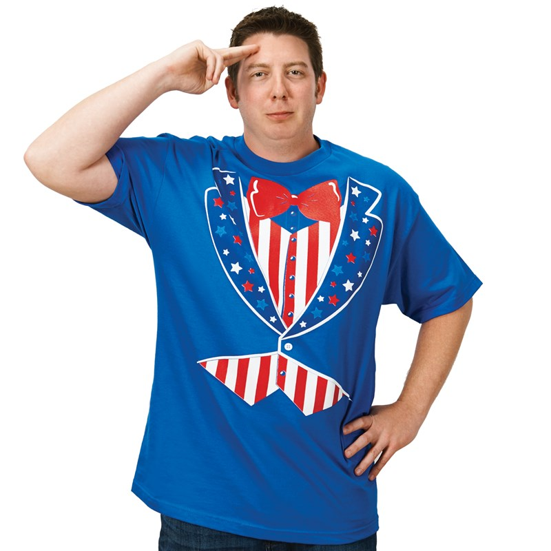Patriotic Uncle Sam T Shirt (XL) for the 2015 Costume season.