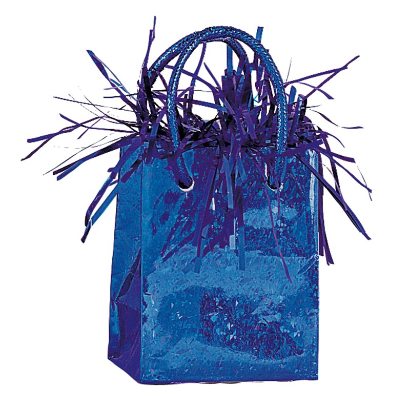 Mini Gift Bag Balloon Weight   Royal Blue for the 2015 Costume season.