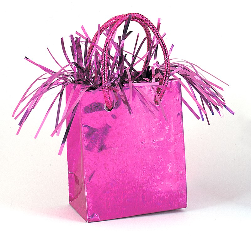 Mini Gift Bag Balloon Weight   Hot Pink for the 2015 Costume season.