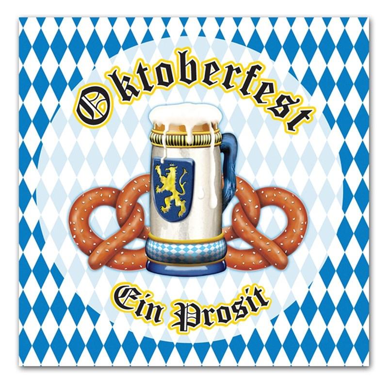 Oktoberfest Lunch Napkins (16) for the 2015 Costume season.