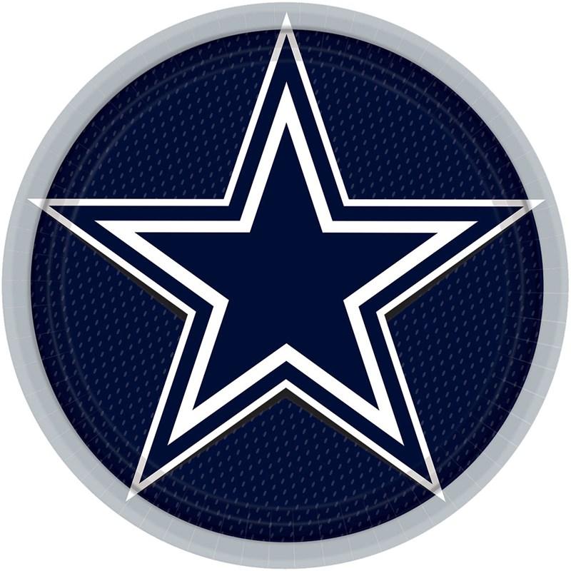 Dallas Cowboys Dinner Plates (8) for the 2015 Costume season.