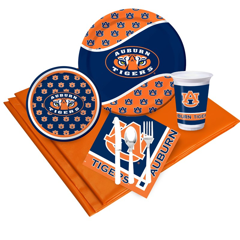 University of Auburn Tigers Event Pack for 8