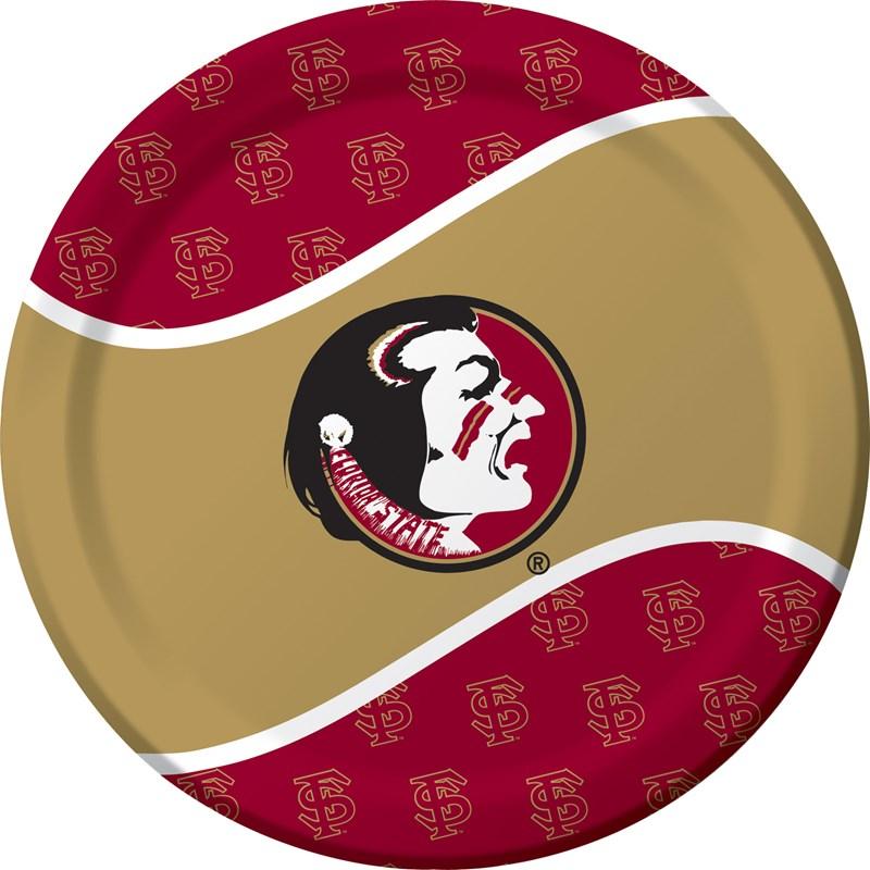 Florida State University Seminoles Dinner Plates (8) for the 2015 Costume season.