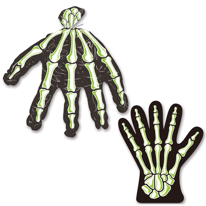 Skeleton Treat Bags (10) for the 2015 Costume season.