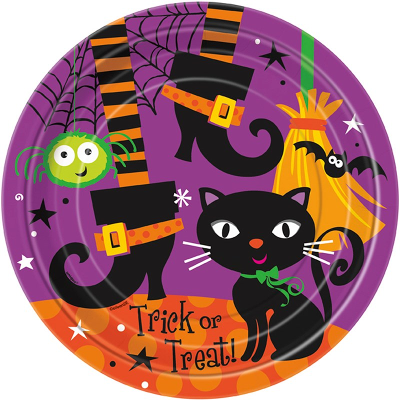 Spooky Boots Dinner Plates (8 count) for the 2015 Costume season.