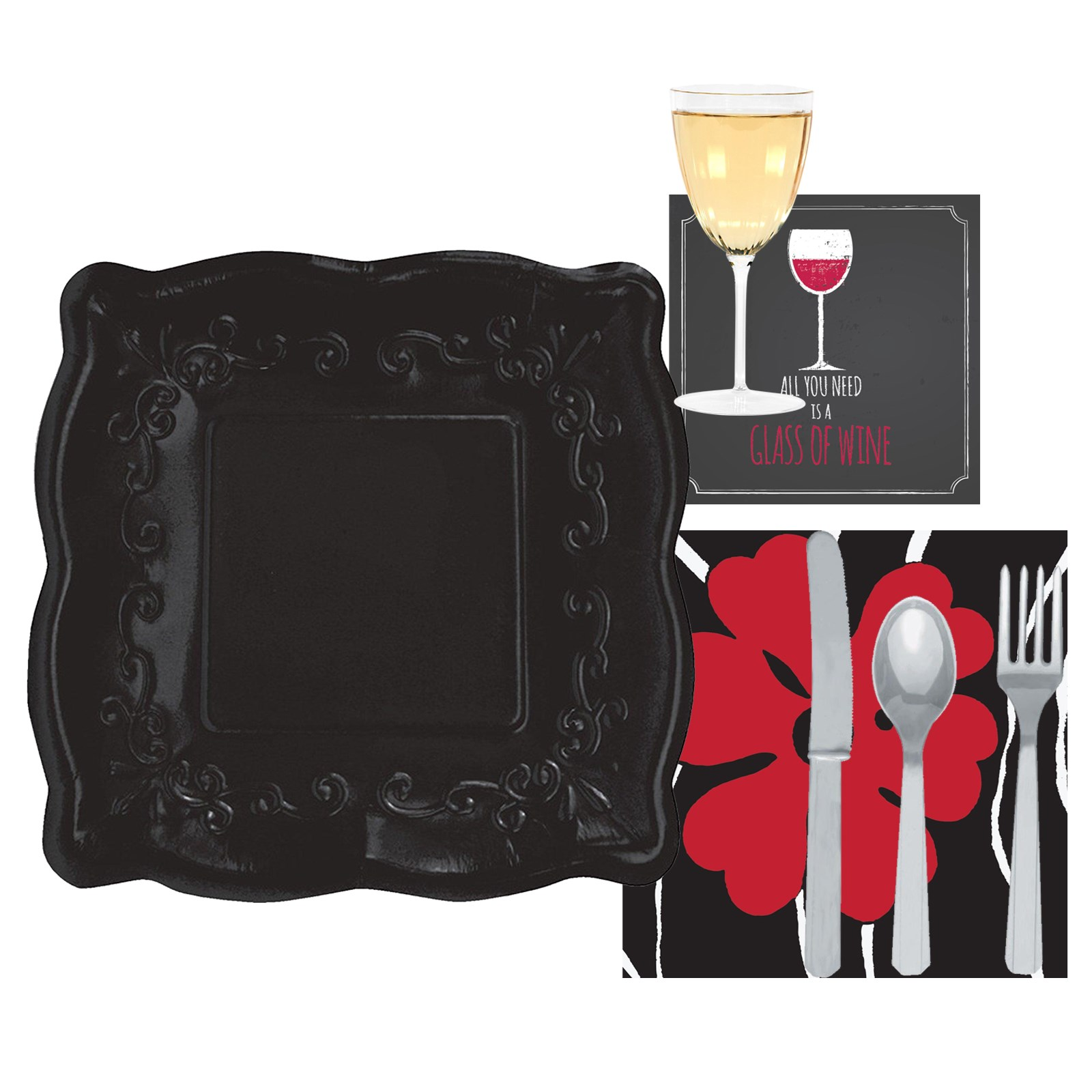 Image of All You Need is a Glass of Wine - Event Pack for 8