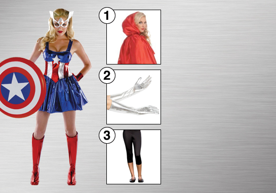Captain America Sassy